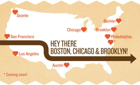 Hey There Boston, Chicago and Brooklyn